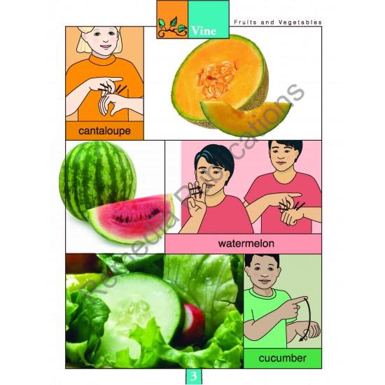 Fruits & Vegetables: Beginning Sign Language Series