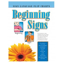 Beginning Signs: Sign Language Flip Chart