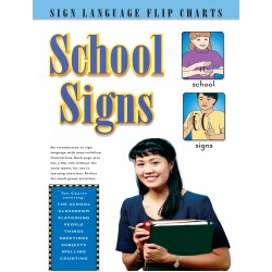 School Signs: Sign Language Flip Charts