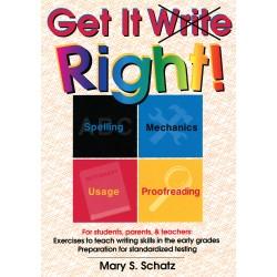 Get It Write Right: Straight forward English Grammar & Writing