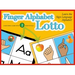 Finger Alphabet Lotto Puzzle