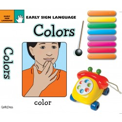 COLORS BOARD BOOK: EARLY SIGN LANGUAGE SERIES