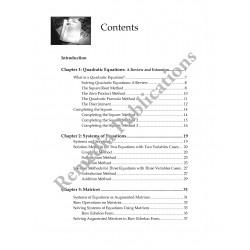 Algebra Book 3: Straight Forward Math Series (Large Edition)
